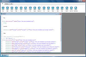 Creazione log tramite template XES